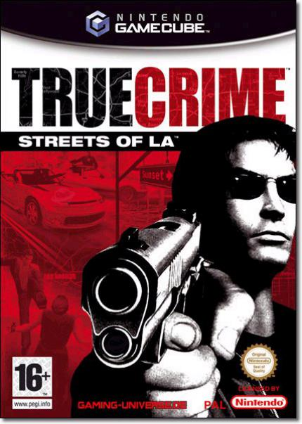 PAL Verpackung zu True Crime: Streets of L.A.