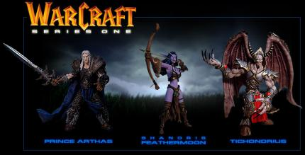 Action-Figuren zu Warcraft 3 erschienen