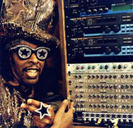 Bootsy Collins als Kommentator in NBA Jam