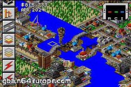 Sim City: Neuigkeiten zur GBA-Version
