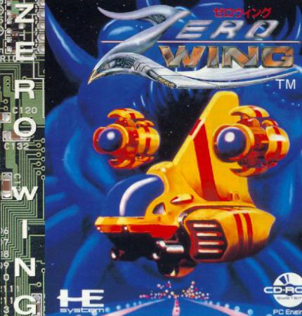 Zero Wing: Das Text-Shoot´em Up - Leser-Test von RAMS-es