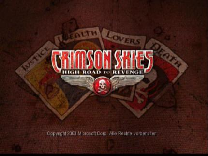 Frische Screens vom Crimson Skies Test
