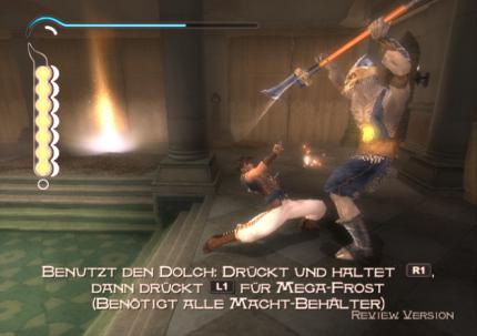 Prince of Persia - The Sands of Time: Der Dolch der Zeit - Leser-Test von sinfortuna