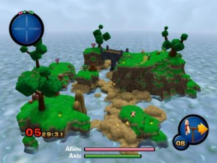 Worms 3D in den USA mit Xbox Live Support