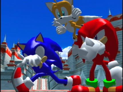 Sonic Heroes: -Review - Leser-Test von BlueSonic