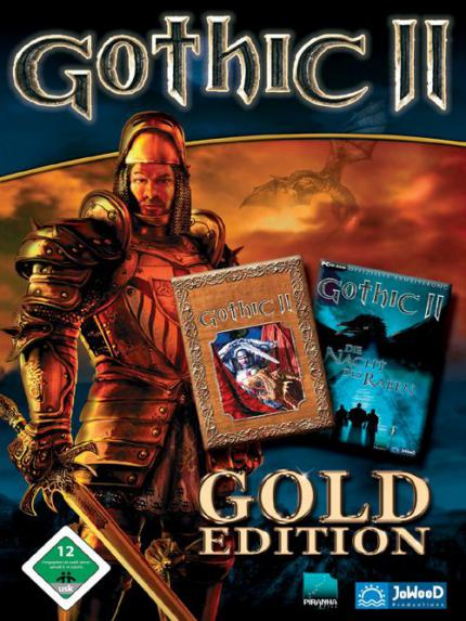 Gothic II inkl. Add-On als Gold Edition
