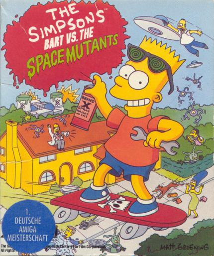 Simpsons - Bart vs. The Space Mutants: Do the Bartman - Leser-Test von alpha_omega