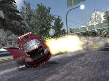 Neue Screenshots zu Burnout 3