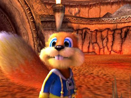 Conker: Live and Reloaded: Homepage