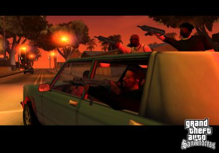 GTA: San Andreas - Website gestartet