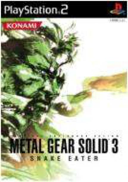 Metal Gear Solid 3 - Boxart & Release für Japan