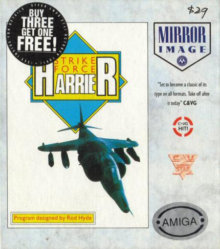 Strike Force Harrier: Jagd in der Nordsee - Leser-Test von RAMS-es