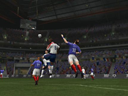 This is Football 2005: Dank EyeToy mittendrin