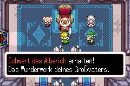 Legend of Zelda: The Minish Cap - Ich vergesse den Hauptplot - Leser-Test von Kalvin