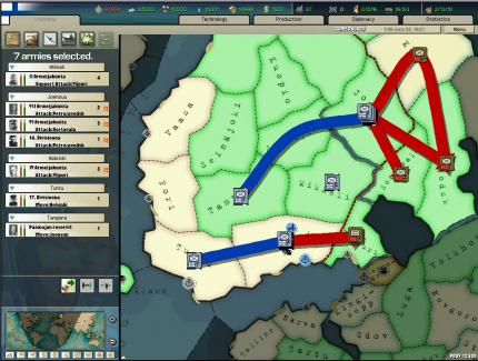 Demo zu Hearts of Iron II