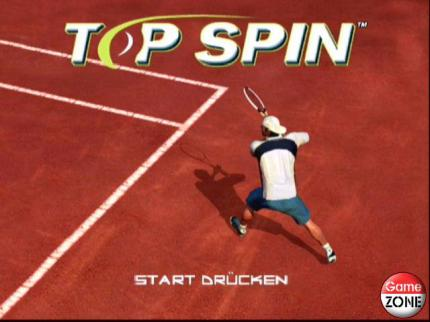 Top Spin - erster Patch