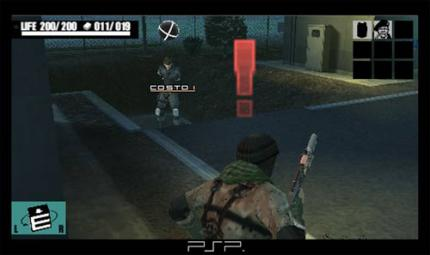 Metal Gear Acid - Neue PSP Bilder
