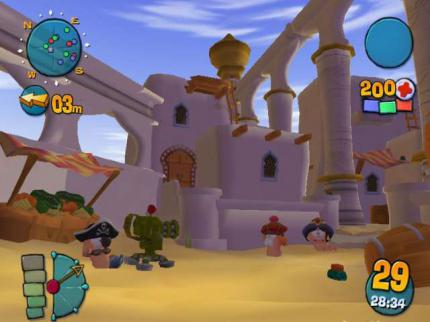 Neue Screenshots zu Worms 4: Mayhem