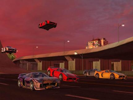 TrackMania Sunrise - Homepage online