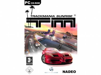 Trackmania Sunrise Cover-Motiv