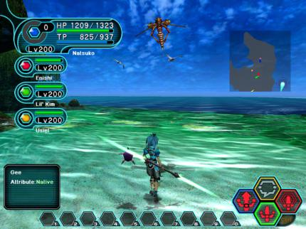 Phantasy Star Online Blue Burst: Offener Betatest gestartet