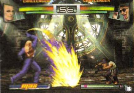 The King of Fighters NeoWave: Infos und Screens zum PS2 Beat'em up