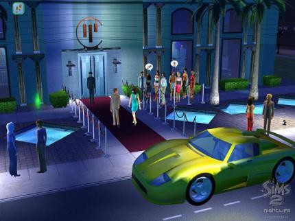 The Sims 2 Nightlife: Bewegte Bilder