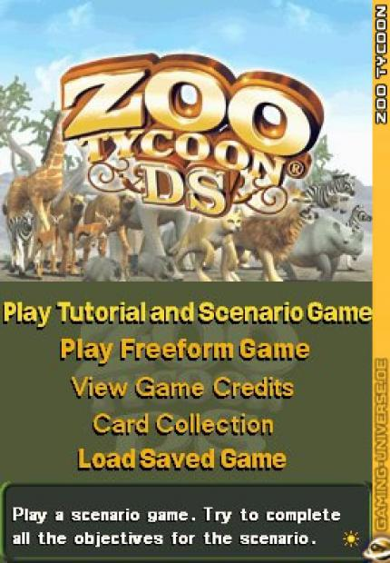 Zoo Tycoon DS: Releasetermin und Screenshots