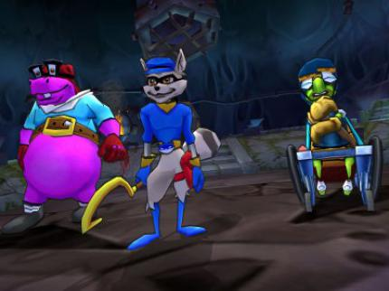 Sly 3: Honor Among Thieves: Neue Videos & Screens