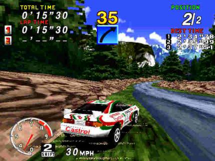 Sega Rally 2006: Inklusive Sega Rally Championship in Japan