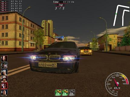 Night Watch Racing: Neuer Trailer vom russischen Rennspiel