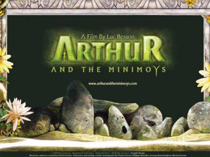 Arthur and the Minimoys: Offizielle Website gestartet