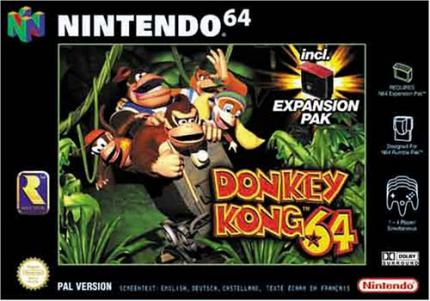 Donkey Kong 64: Donkey Kong is back - Leser-Test von Luigi