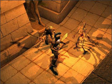 Titan Quest: Neue Screenshots vom Titanen