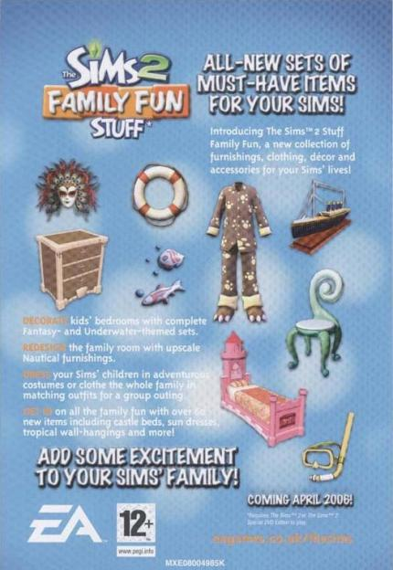Die Sims 2: Family Fun Stuff: Neues Add-On enthüllt