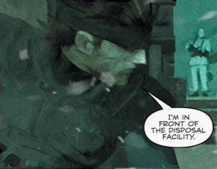 Metal Gear Solid B.D.: Neue Screenshots zum PSP-Comic