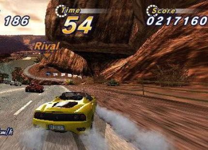 Out Run 2006: Coast 2 Coast: Neues Bildmatrial der Handheld-Version