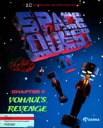 Space Quest 2: Vohaul's Revenge - Two Guys from Andromeda - Leser-Test von RAMS-es