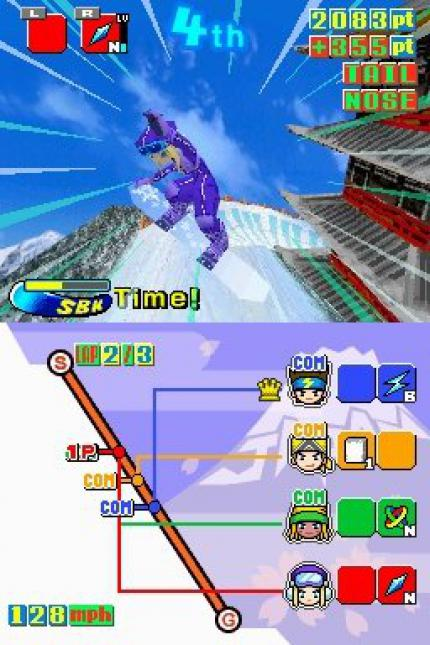 Sbk Snowboard Kids Ds Im Gamezone Test