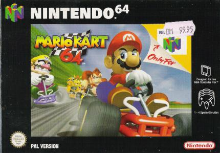 Mario Kart 64: Fun-Racing in Vollendung - Leser-Test von harhuettne