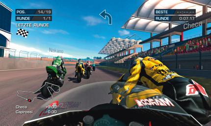 MotoGP Ultimate Racing Technology 2006: Moto Gp 2006 - Leser-Test von Ganjagott