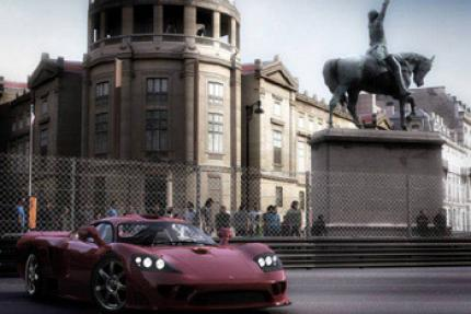 Project Gotham Racing 3: Spiel + Konsole + Controller