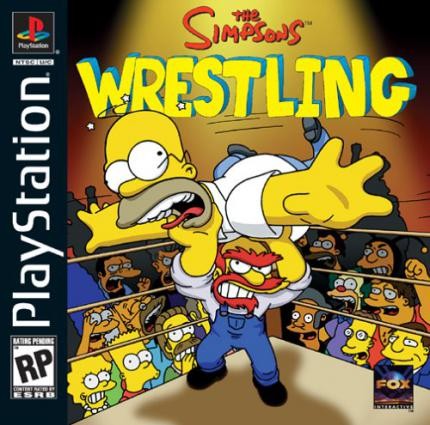 The Simpsons Wrestling: Kämpfen in Springfield - Leser-Test von Dansk