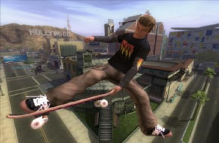 Tony Hawk's Downhill Jam: Ingame Video mit dem Wii-Controller