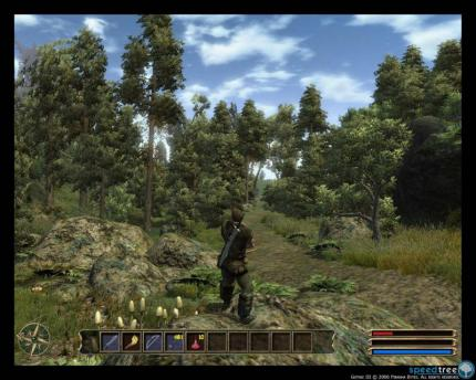Gothic 3: Neue Speed Tree Screenshots