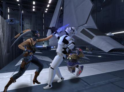Star Wars: Lethal Alliance: Screenshots der DS-Version