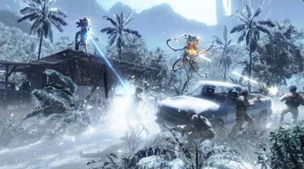 Crysis: Zwei Screenshots der Eislevel