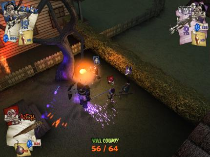 Monster Madness: Neue Screenshots zum Monster-Shooter