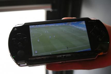 S.PORT für PSP: Testphase bei Arsenal London beginnt