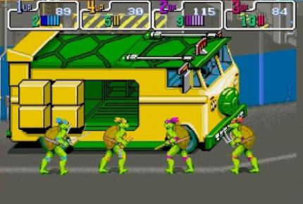 Xbox Live Arcade: Teenage Mutant Ninja Turtles Umsetzung